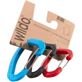 Wildo Accessory Carabiner Set of Three 2xM 1xL, classic
